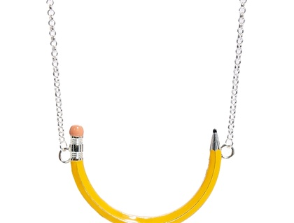 """""""Write On"""" Pencil Necklace"""