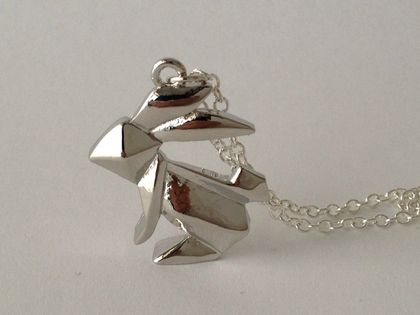 Origami Bunny Necklace