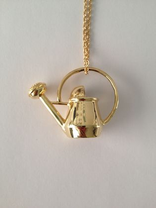 Watering Can Necklace