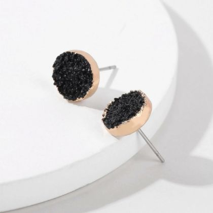 Glam Rocks Circular Earrings