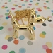 Balloon Dog Necklace : Gold