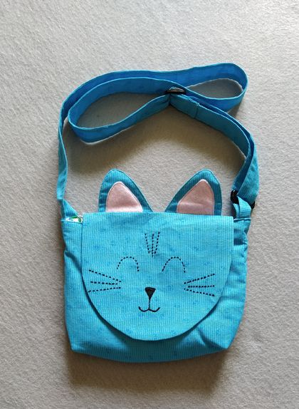 Child's Cat Bag - Free Shipping