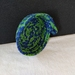 Fabric Covered Rope Basket