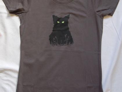 Night Kitty Women's T-shirt