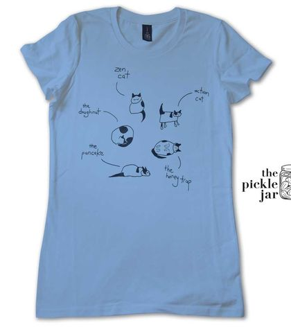 Cat of many Postures Women's T-shirt (S)