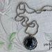 Night Kitty filigree pendant