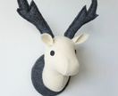 Stag Wall Mounted Hanging, Faux Taxidermy
