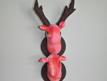 Pair 'o Deer Hangings Mr & Mrs Porange