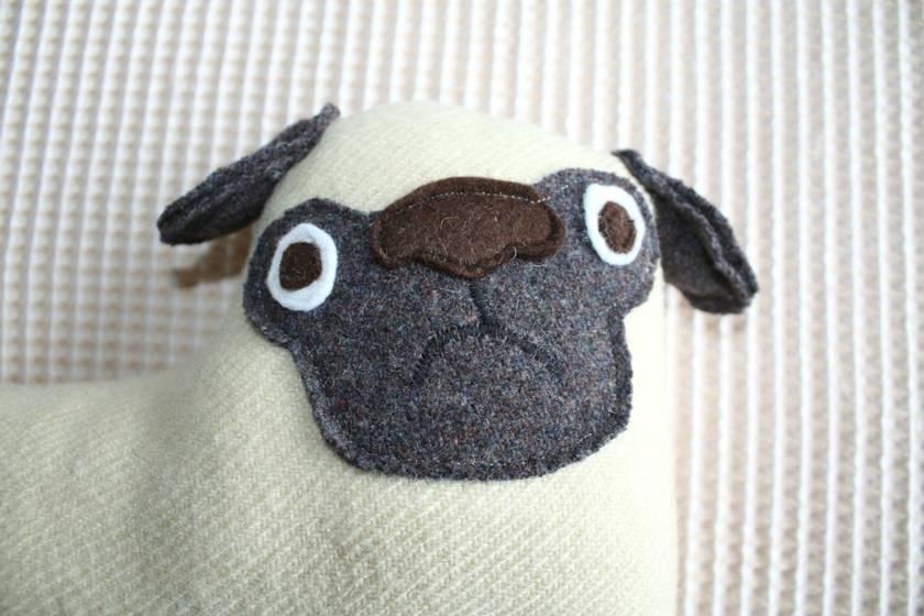 Pug Soft Toy