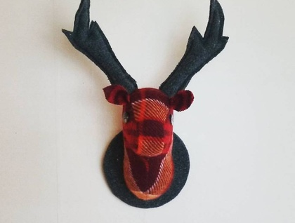 Stag Wall Hanging, Ox