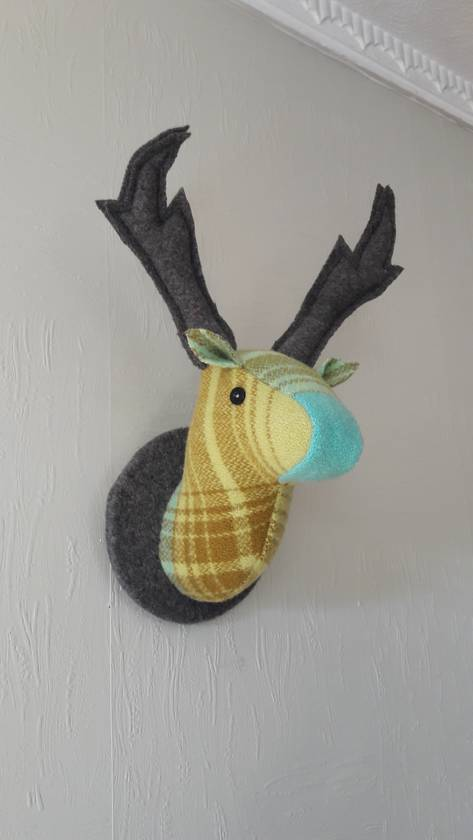 Stag Head Wall Hanging, Chateau.