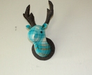 Stag Head Wall Hanging,Turbo