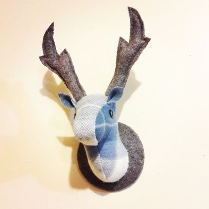 Deer Head Wallhanging, Misty