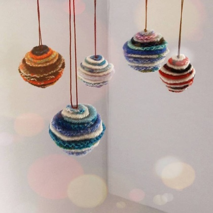 Blanket Confetti Baubles, set of 3