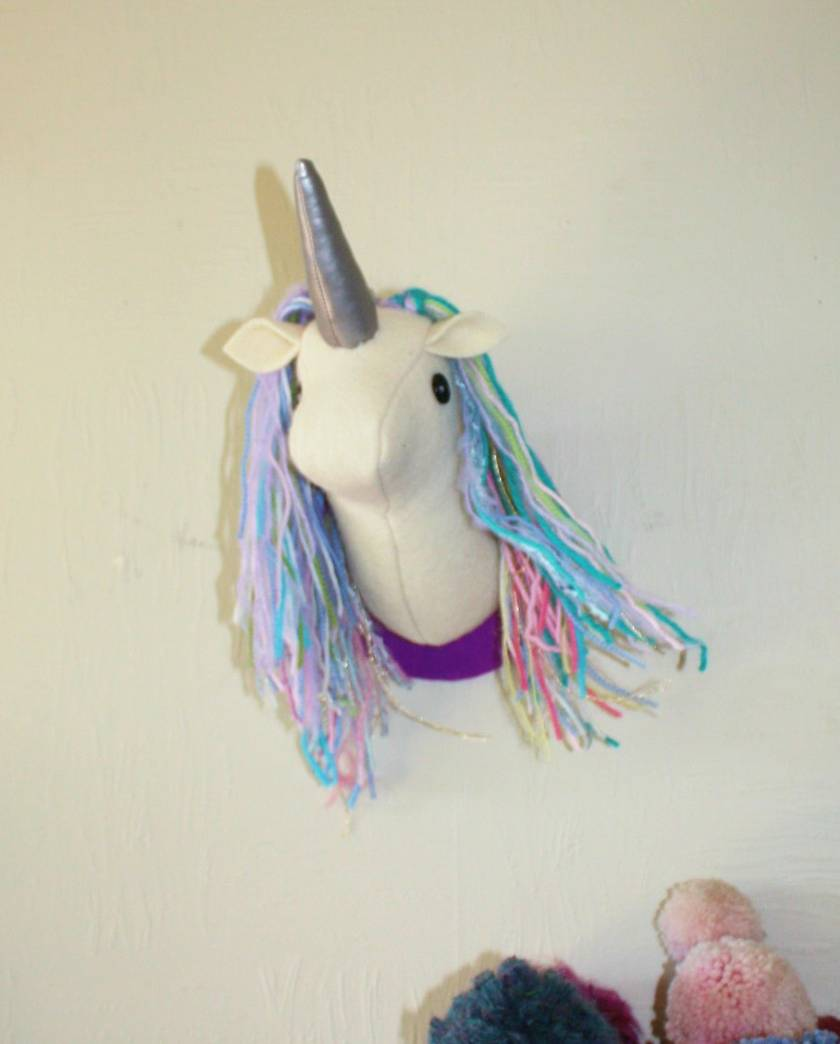 Fabulous the Unicorn Wall Hanging