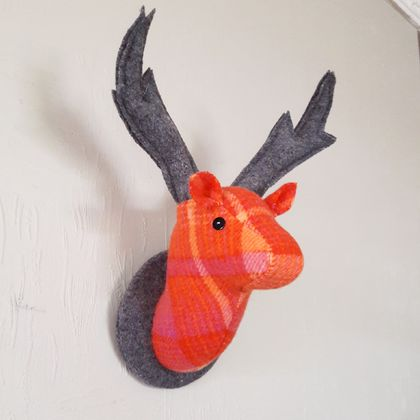 Fabric Deer Head, Candy Crush