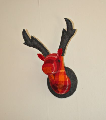 Stag Wall Mounted Hanging, Blaze