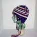 Earflap Hat, Purple