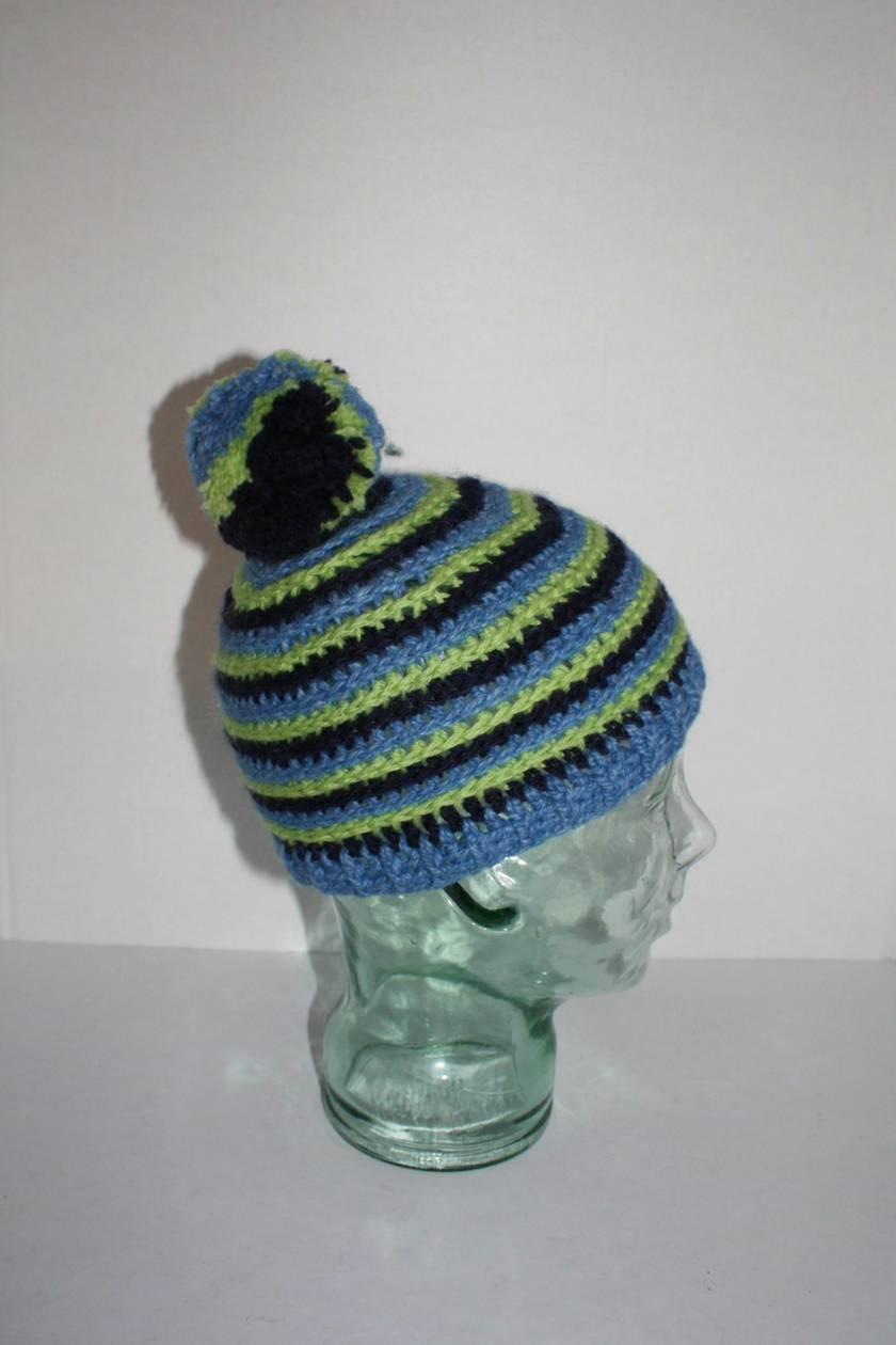 Crochet Hat, Stripey