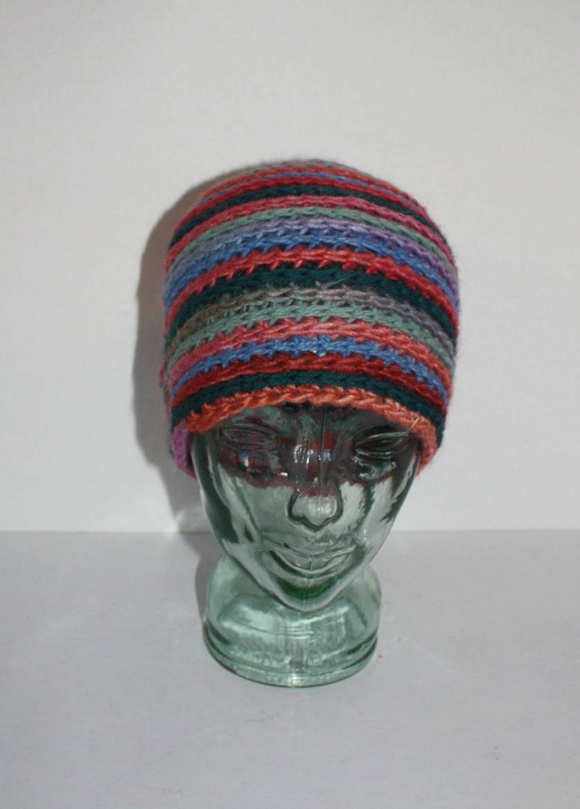 Crochet Hat, Stripey