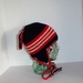 Earflap Hat, Red, White and Blue