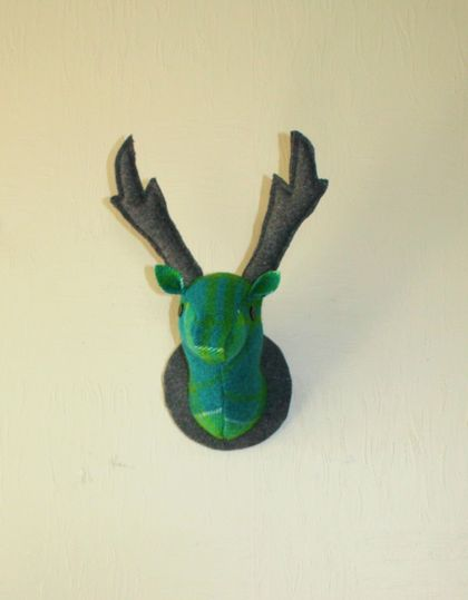 Stag Head Wall Hanging, Captain Planet