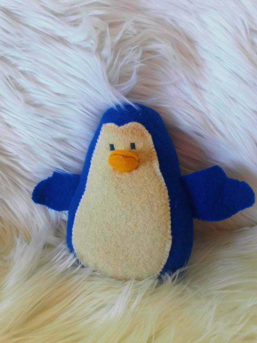Lil Blue, Baby Penguin Soft Toy