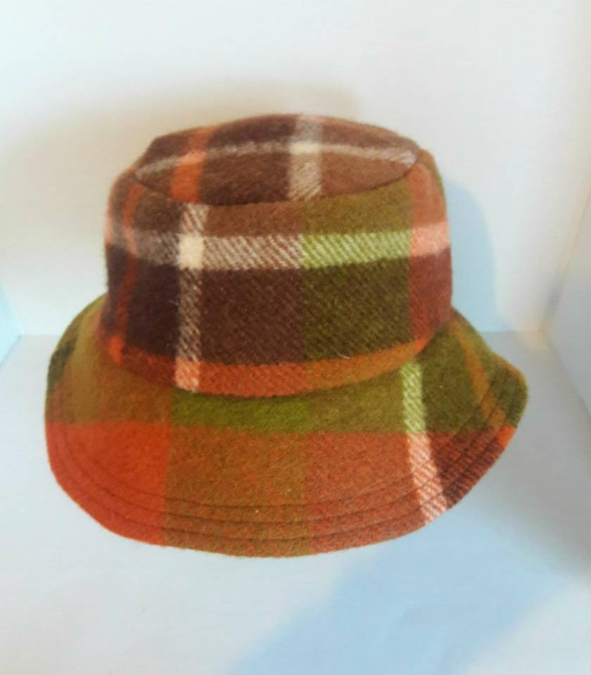 Blanket Bucket Hat. Autumn.
