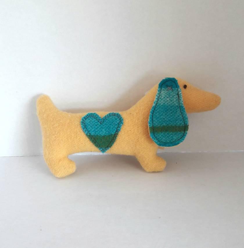Tiny Doxie the Dachshund Soft Toy