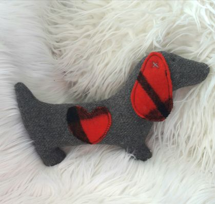 Doxie the Dachshund Soft Toy