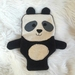 Panda Hot Water Bottle Cover