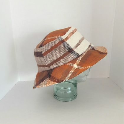 Blanket Bucket Hat. Nutty. Sz XXL