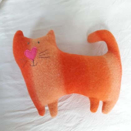 Wonky Cat soft toy