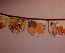 Vintage StoryBook Bunting- The Musicians of Bremen