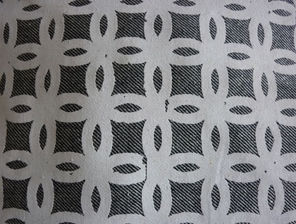 Hand printed Cushion