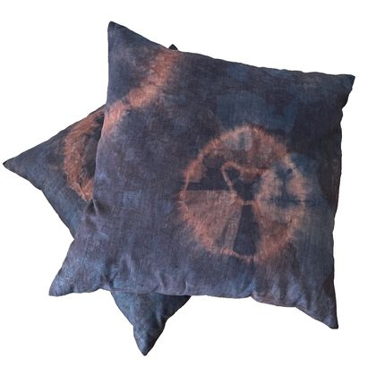 Linen Cushion Cover - Tie dye