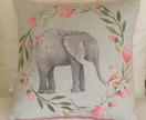 """Friends"" Evelyn Rose Design Eco Canvas Cushion"