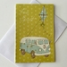 """Free Spirit""  Pack of 5 cards and envelopes."