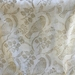 Hand Printed Voile scarves - Gold Metallic Birds