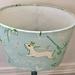 Bunny Princess Green  20cm Oval Lampshade