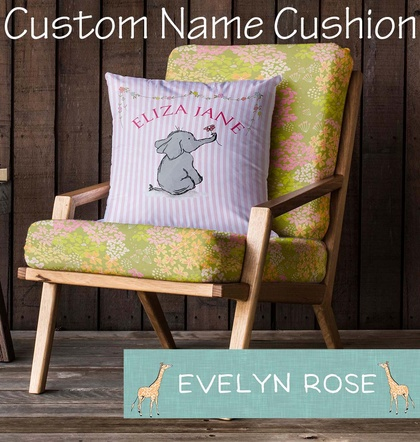 """Custom Name"" Cushion"