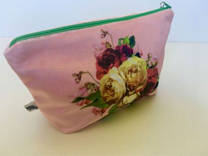 Ms Velvet Pink Make Up Bag