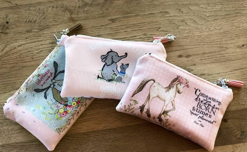 Hares Eco Canvas Coin Purse