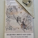 Reusable Fabric Book Mark and Gift Card