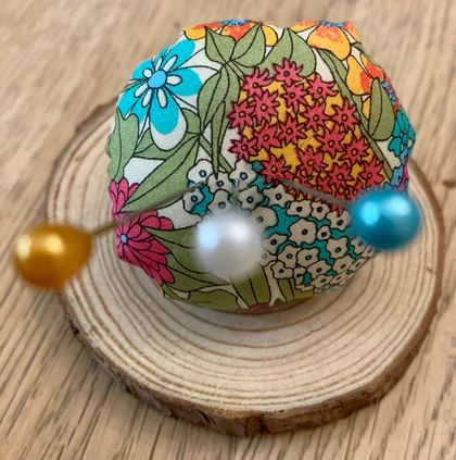 Adjustable Liberty Pin Cushion Ring