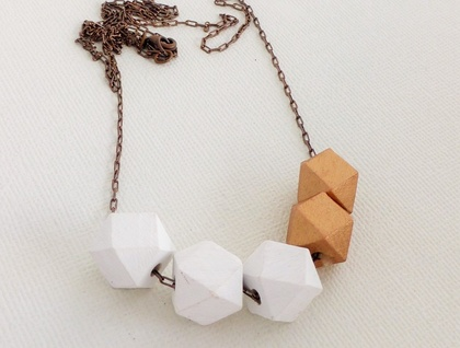 Mini Madrid Geometric Bead Necklace