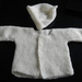 JACKET WITH BEANIE  3 - 6 MTHS