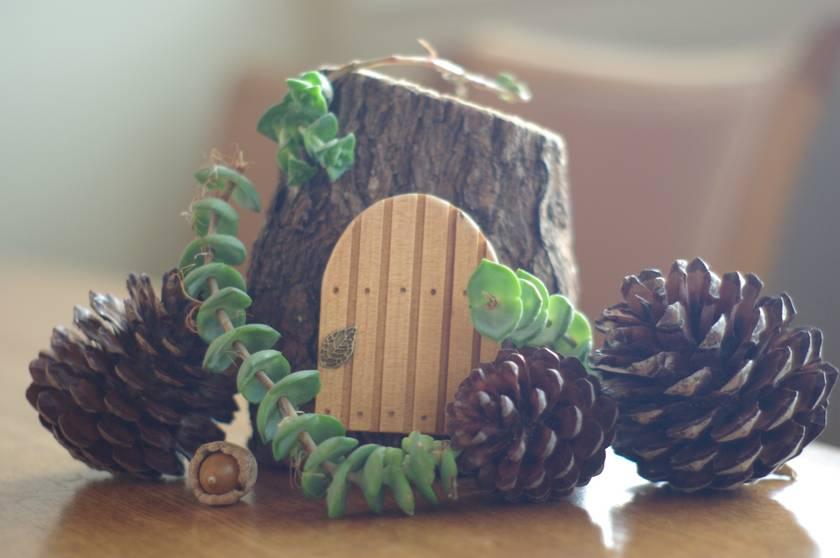 Handmade NZ Kauri Fairy Door