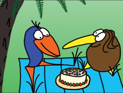 Kiwi Critters Greeting Card Set - FREE delivery