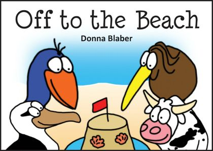 Off to the Beach - Book 6, Kiwi Critters series, incl delivery worldwide!